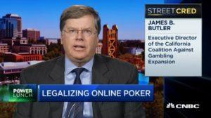 Rev James Butler, California Coalition Against Gambling