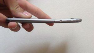 Bent iPhone 6 suffers Touch Disease