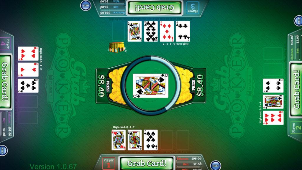 Grab Poker Skill-based game
