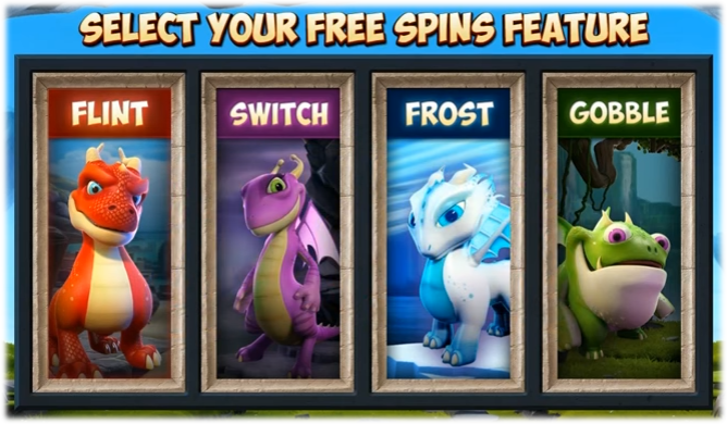 Dragonz Slot Free Spins