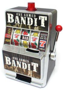 Video Slots killing One Armed Bandits in Las Vegas