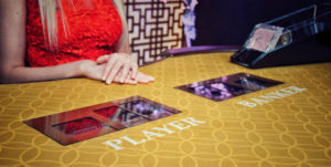 Evolution's Live Dealer Baccarat Controlled Squeeze Tables