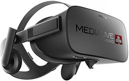 Media Live VR Casino Headset