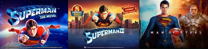 DC Comics Slots from Playtech Superman Slot