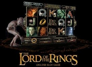 Lord of the rings slot machine LOTR slot