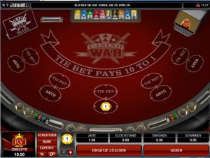 Casino War Rules