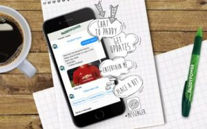 Chatbot Betting Paddy Power new text to bet app