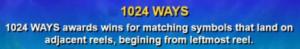 1024 Ways to Win Slots
