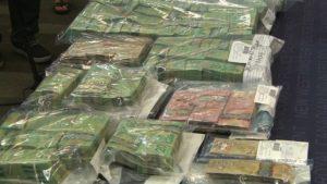 Cash seized in BC casinos money laundering investigation