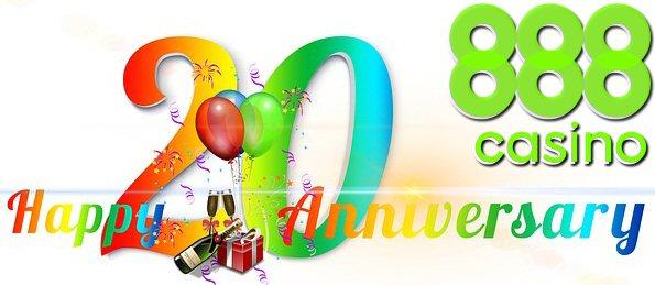 888 online casino celebrates 20 years