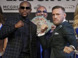 Mayweather vs McGregor could make sports betting history