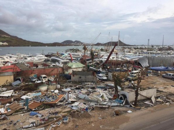 Barbuda Decimated by Hurricane Irma
