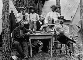 History of Poker Games - 114th Pennsylvania Infantry 1864