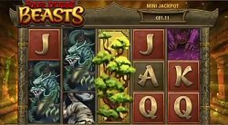 Four Divine Beasts Slot Features