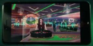 Mr Green 3D Live Casino fro NetEnt