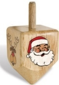 Terrible Product Combinations - Santa Dreidel
