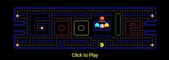 Play Pac-Man Google Doodle Game