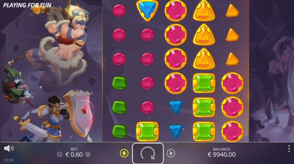 New Dungeon Quest Slot by NoLimit City