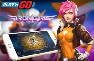Iron Girl Now Live, New Female Super Hero Slots from Play'n Go