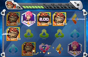 Iron Girl Online Slot Respin Feature