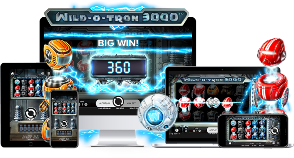 Wild-O-Tron 3000 Slot from NetEnt takes Simplicity to the Next Level