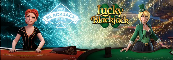 Yggdrasil's new Lucky Blackjack and Sonya Blackjack Side Bets