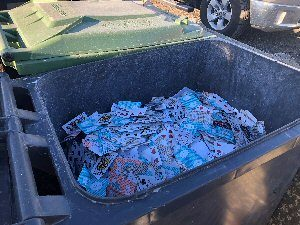 Playing Cards used in Casinos in BC Canada thought to be destroyed by ShredWise shredding company