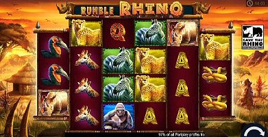 Help Save African Rhinos with Pariplay's New Online Slot