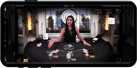 The Apt Cognomination of NetEnt's Live Perfect Blackjack Game