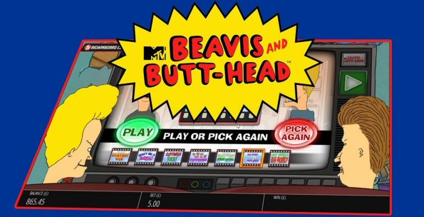 Beavis and Butt-Head Online Slot - Inadvertently Celebrating Legal Pot in Canada