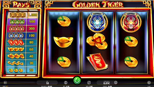 Asien themed slots - Golden Tiger Slot from iSoftBet