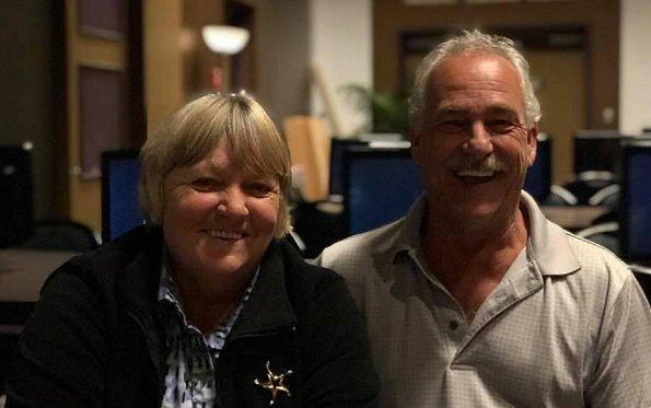 Marlyne and Andy Dumoulin of Prince George win Largest Powerbucks Progressive Slot Jackpot