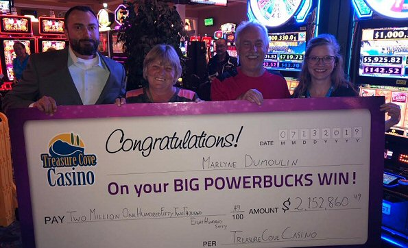Prince George Slots Player Wins Largest Powerbucks Progressive Jackpot