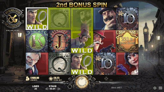 Sherlock of London Online Slot