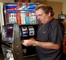 Infamous slot machine cheater Tommy Glenn Carmichael
