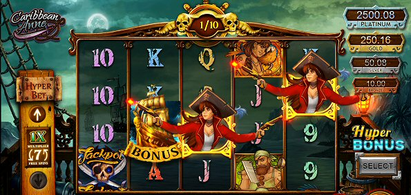 Caribbean Anne Online Slot Machine