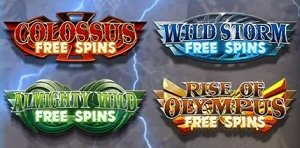 Gods of Olympus Megaways Free Spin Features