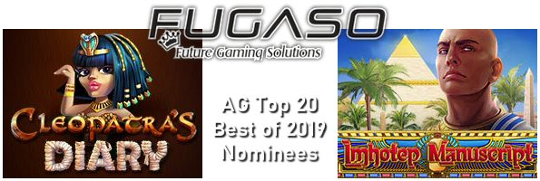 Fugaso Online Slots Score Dual Nominations in AG Awards