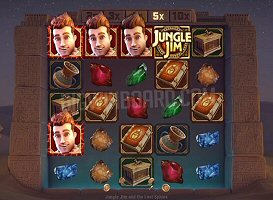 New from Microgaming is a Jungle Jim Slot Sequel, The Lost Sphinx