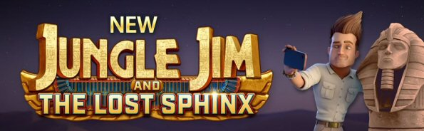 Jungle Jim Returns in The Lost Sphinx Online Slots Sequel