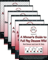 6 Volume Video Poker Winner's Guide Series by Bob Dancer