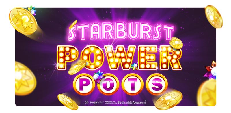 NetEnt Unveils Communal Rewards with Starburst PowerPots Jackpot