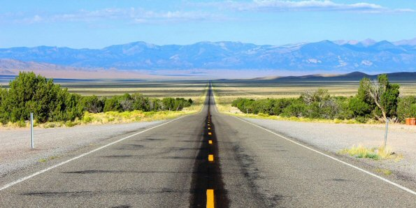 Nevada Route 50 Loneliest Road in America