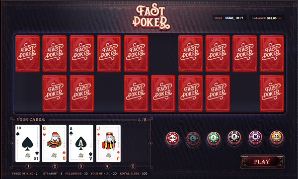 Learn How to Play Fast Poker Online